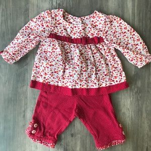 Gymboree outfit 🍁🌹